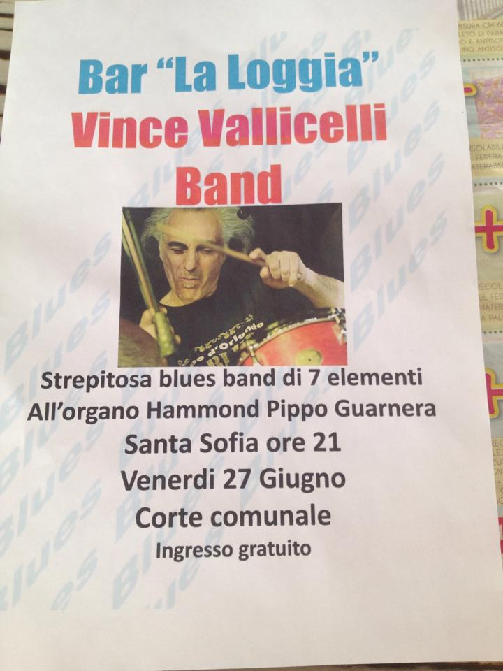 Vince Valicelli Band in concerto