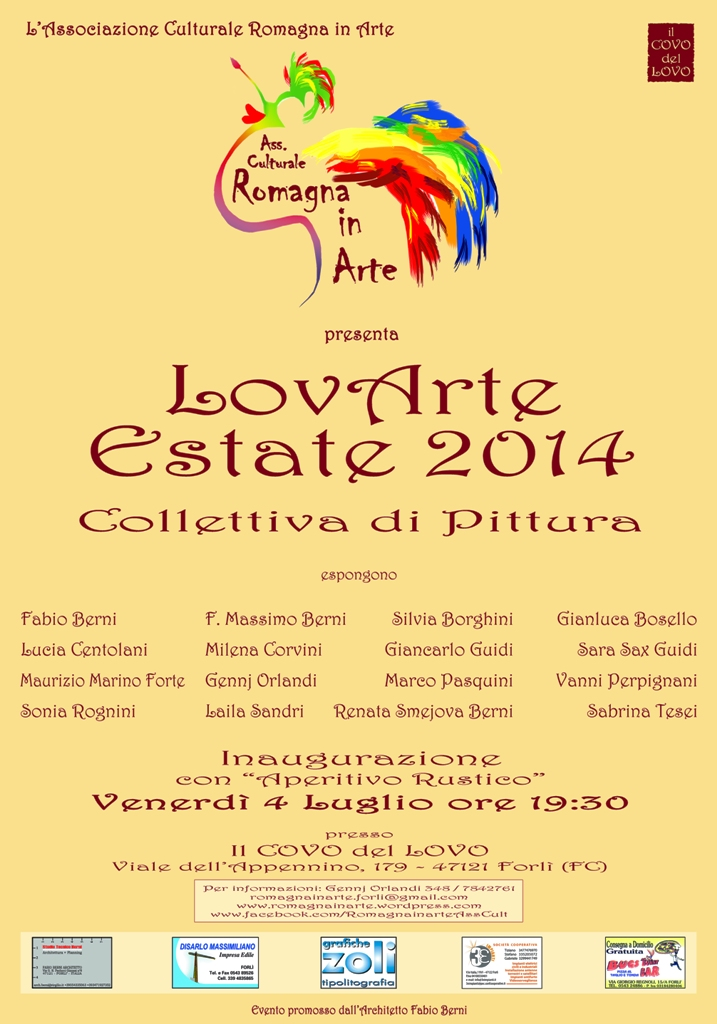 LovArte Estate 2014 – Collettiva di Pittura